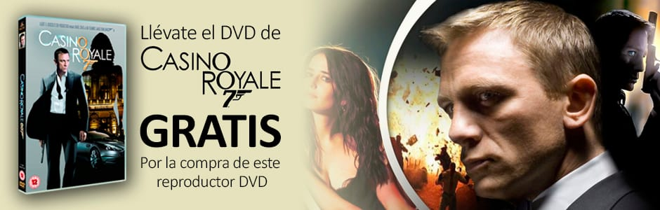 "PELÍCULA DVD ""007: CASINO ROYALE"" DE REGALO"